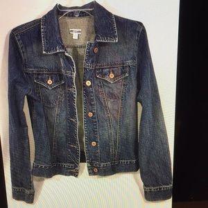 Gap blue denim women's jeans jacket m